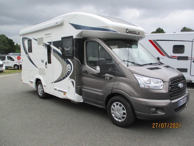 CHAUSSON Camping car 2016 occasion Mérignac 33700